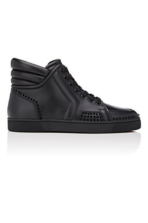 Christian Louboutin Mens Sporty Dude Low Flat Sneakers