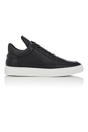 Filling Pieces Mens Low Top Leather Sneakers
