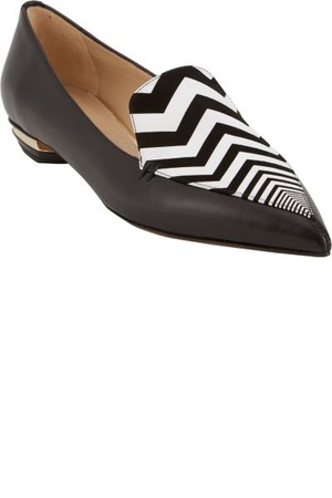 Nicholas Kirkwood Zigzag Vamp Point Toe Loafer