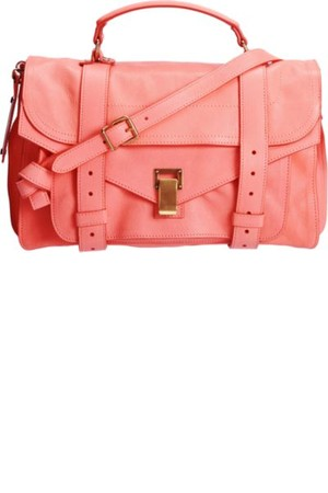 Proenza Schouler PS1 Leather Neon Coral