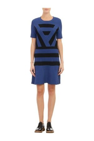 Timo Weiland Block Stripe Knit Dress