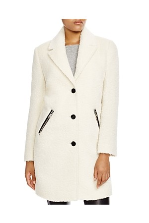 Andrew Marc Chesterfield Textured Coat