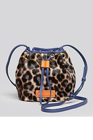 MARC BY MARC JACOBS Crossbody Too Hot To Handle Leopard Mini Drawstring