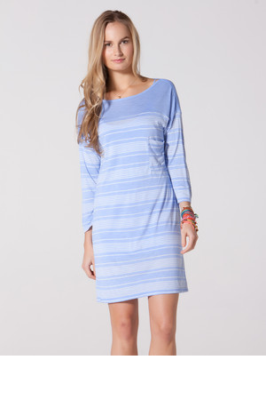 CC California Variegated Stripe Jersey Dress