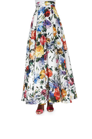 Vanessa hudgens floral skirt — photo 15