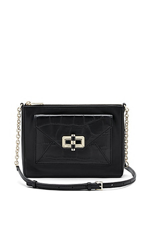 Diane von Furstenberg DVF 440 Gallery Uptown Leather Crossbody Bag
