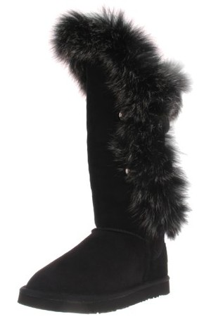 Australia Luxe Collective Womens Nordic Angel Tall Fur Lined Sheepkin Boot