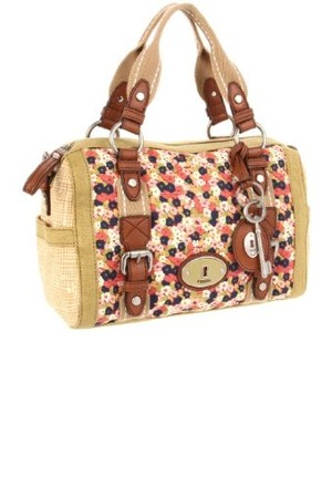 Fossil Maddox Floral Satchel