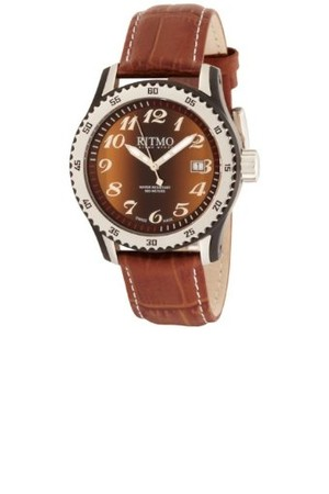 Ritmo Mundo Womens 233 IPB Tiger Eye Extreme Quartz Watch