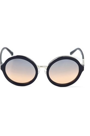 31 Phillip Lim By Linda Farrow Gallery Round Frame Sunglasses
