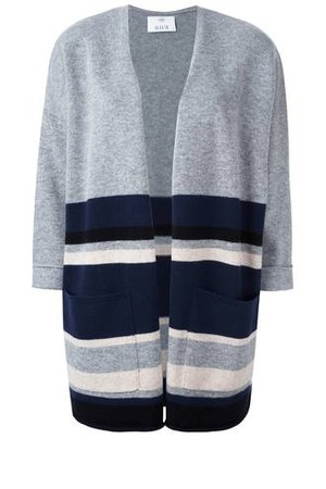 Allude Loose Fit Knit Poncho