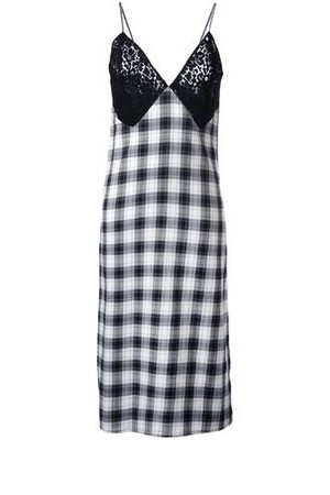 Au Jour Le Jour Checked Dress
