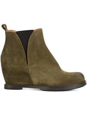 Buttero Wedge Ankle Boots