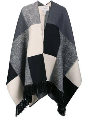 Carolina Herrera Big Square Poncho