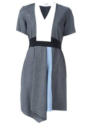 Carven Colour Block Panelled Dress