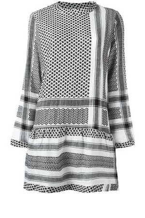 Cecilie Copenhagen Longsleeved Keffiyeh Dress