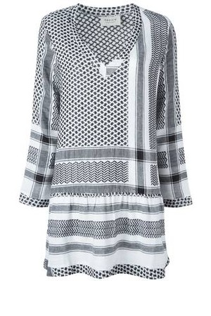 Cecilie Copenhagen V Neck Printed Dress