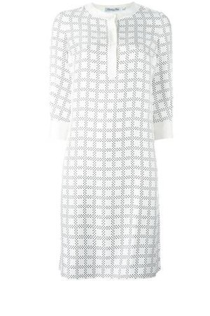 Christian Dior Vintage Geometric Print Dress
