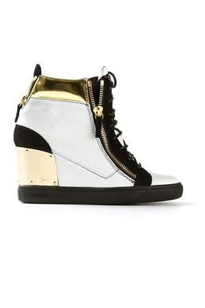 Giuseppe Zanotti Design Concealed Wedge Trainers