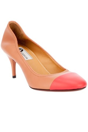 Lanvin Leather Pump