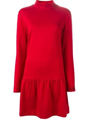 Love Moschino Turtleneck Smock Dress