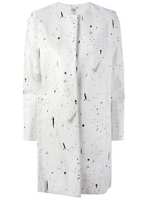 Opening Ceremony Paint Splash Print Coat