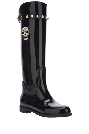 Philipp Plein Studded Riding Boots