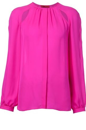 Tamara Mellon Cut Out Blouse