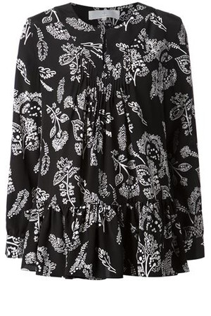 Thakoon Addition Floral Print Blouse