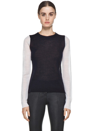 ALC Gerry Back Block Sweater in Midnight