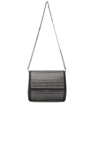 Givenchy Minaudiere All Over Chain Pandora Box in Black Metallics