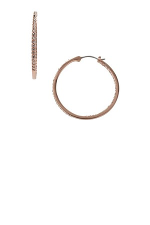 Fossil Glitz Hoops Rose Jf00040791