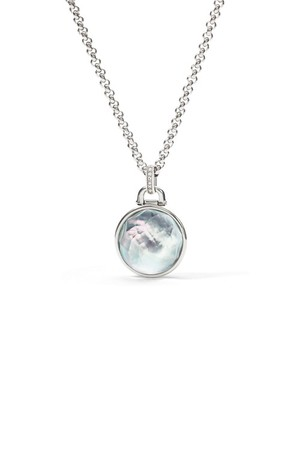 Fossil Moon Drop Pendant Jf01603040