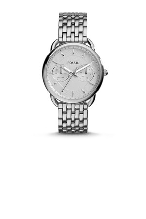 Fossil Tailor Multifunction Stainless Steel Watch Es3712 White