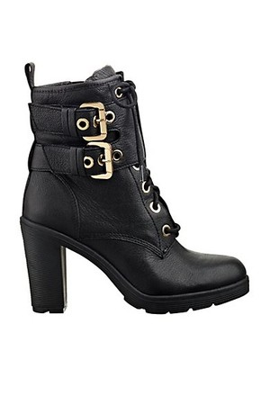 Finlay Lace Up Buckle Booties