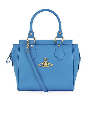 Vivienne Westwood Small Divina Tote Blue