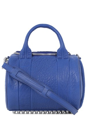 Alexander Wang Rockie bright blue leather dumbo bag