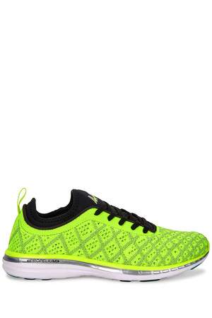 Athletic Propulsion Labs TechLoom Phantom neon yellow knitted trainers
