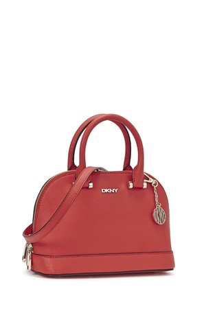 DKNY Bryant Park mini red leather cross body bag