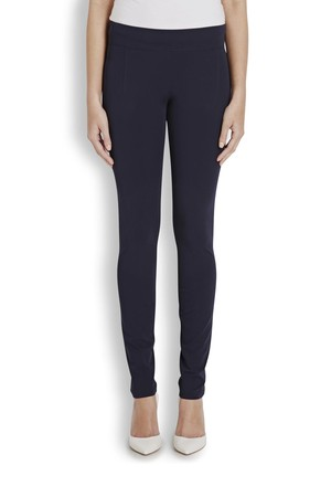 Helmut Lang Navy stretch twill leggings
