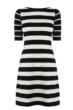 Karen Millen Graphic stripe dress