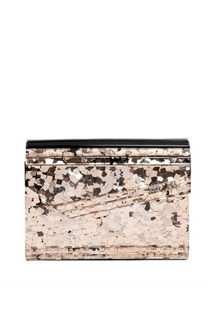Jimmy Choo Candy Glitter Acrylic Clutch