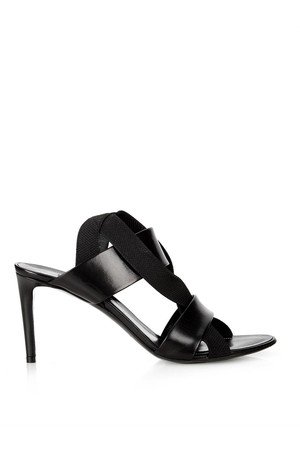 Balenciaga Leather And Elastic Sandals