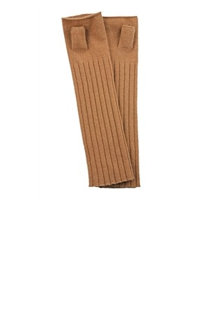 Max Studio Fingerless Gloves Camel