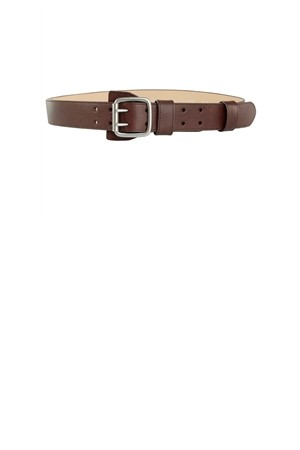Max Studio Textured Leather Belt