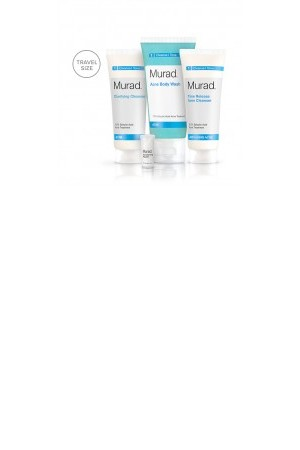 Murad Acne Mini Cleanser Set 4 Piece Set Murad Skin Care Products