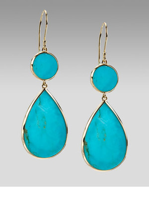 Spring 2017 Turquoise Jewelry Trend Cia Leets Double