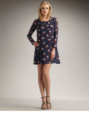 Raoul Printed Chiffon Dress