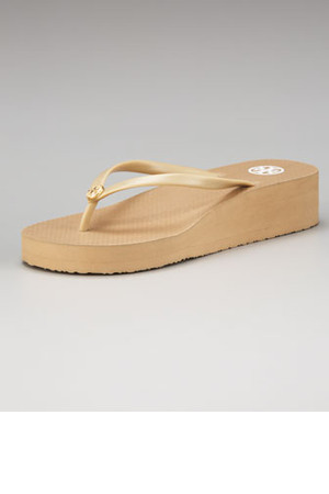 Tory Burch Rubber Wedge Flip Flop