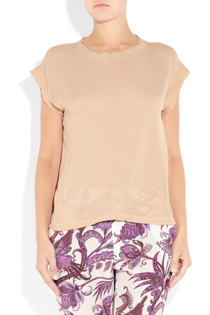 Dg Silk Georgette Top